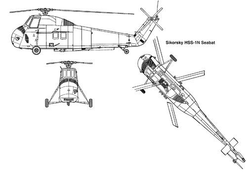 Sikorsky S-58 HSS-1N Seabat
