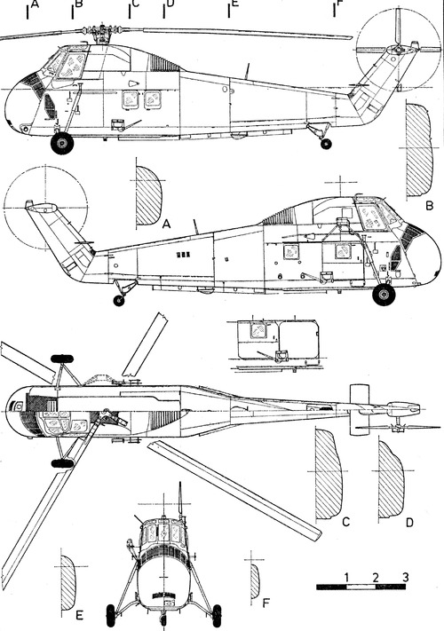 Sikorsky S-58 UH-34 Choctaw