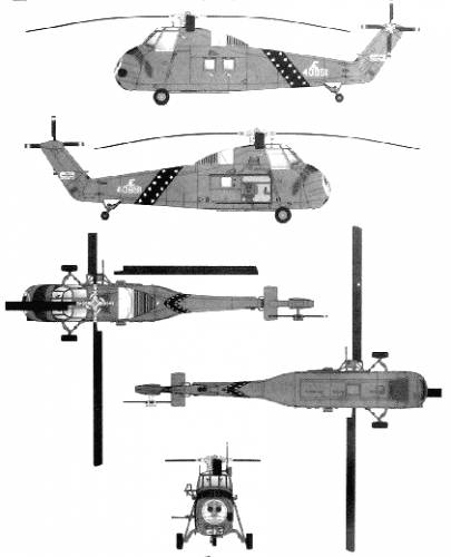 Sikorsky S-58 UH-34D Choctaw