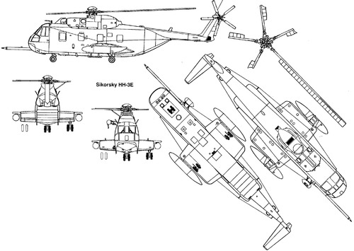 Sikorsky S-61 HH-3E Sea King