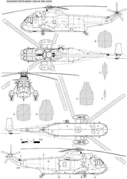 Sikorsky S-61 Sea King HSS-2A