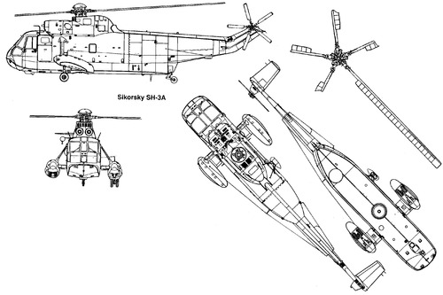 Sikorsky S-61 SH-3A Sea King