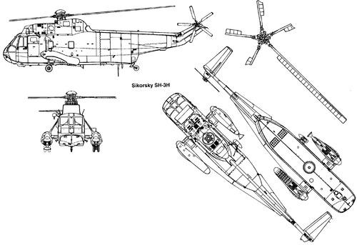 Sikorsky S-61 SH-3H Sea King