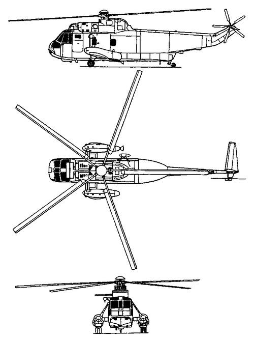 Sikorsky S-61B Sea King