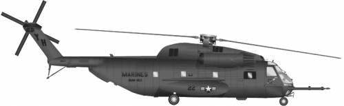 Sikorsky S-65 CH-53D Sea Stallion