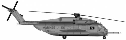 Sikorsky S-65 CH-53E Sea Stallion