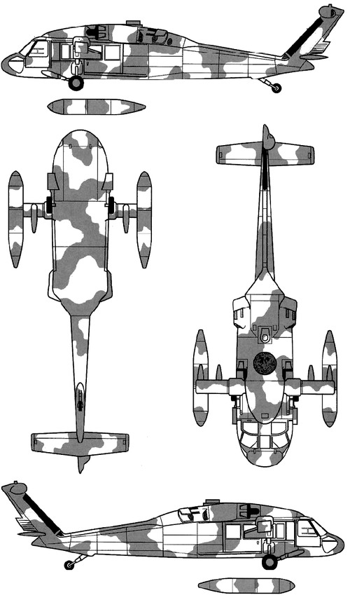 Sikorsky S-67 UH-60A Blackhawk