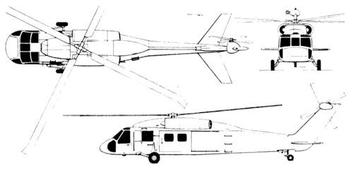 Sikorsky S-67 YUH-60A Blackhawk