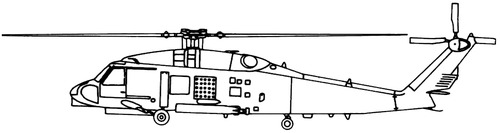 Sikorsky S-70 CH-60 Blackhawk