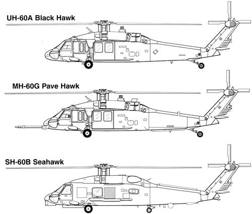 Sikorsky S-70 H-60 Blackhawk
