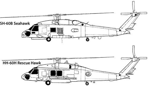 Sikorsky S-70 H-60 Hawk