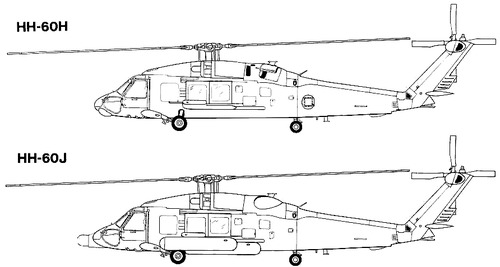Sikorsky S-70 HH-60 Jayhawk