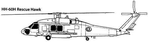 Sikorsky S-70 HH-60H Rescue Hawk