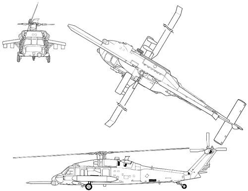 Sikorsky S-70 MH-60G Pavehawk
