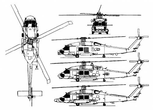 Sikorsky S-70 SH-60B Sea Hawk