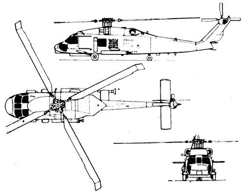 Sikorsky S-70 SH-60B Seahawk