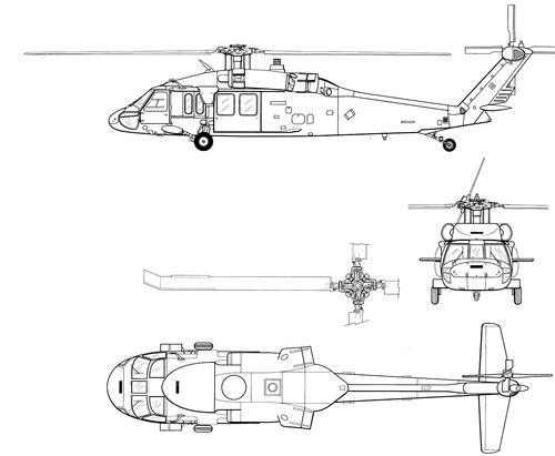 Sikorsky S-70 UH-60AL Blackhawk
