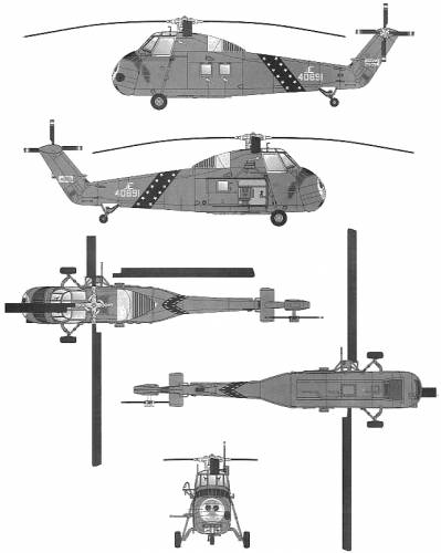Sikorsky UH-34D Choctaw
