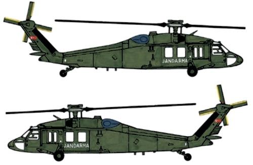 Sikorsky UH-60A Desert Hawk
