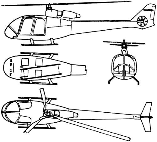 Sud-Aviation SA340 Gazelle