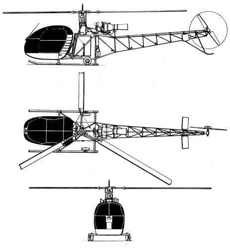 Sud Aviation SE-3130Alouette II