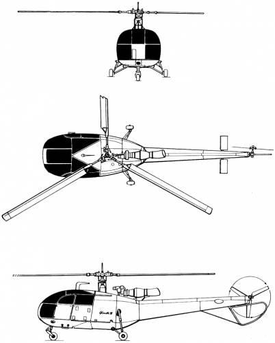 Sud Aviation SE-316 Alouette III