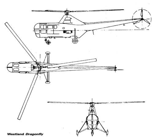 Westland Dragonfly WS-51 [Sikorsky S-51]