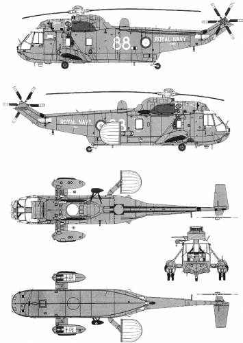 Westland Sea King AEW Mk.IIA