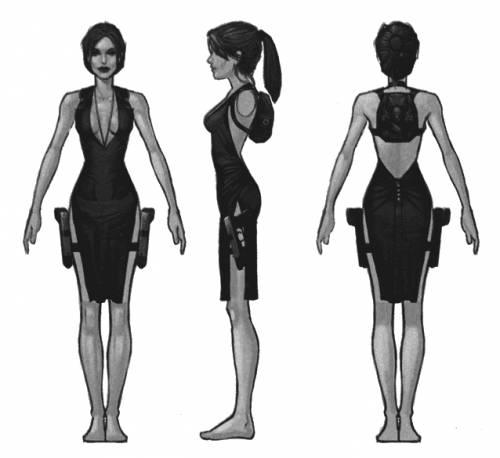 Lara Croft Look-a-Like