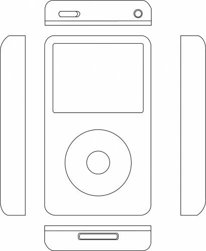 Apple iPod 5th Gen + Sides (2006)