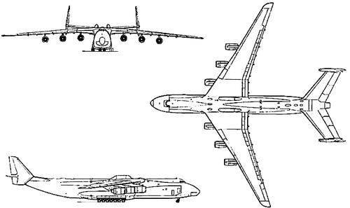 Antonov An-225 Mriya (Cossack)
