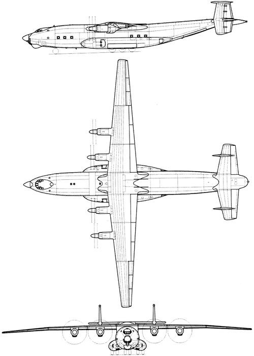 Antonov An-22A Antei (Cock)