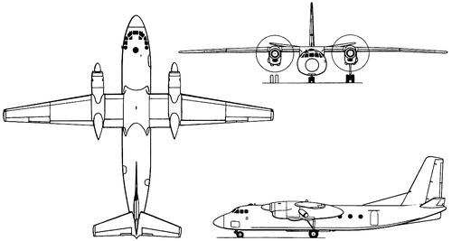 Antonov An-24V Coke