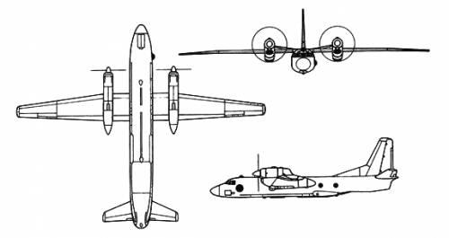 Antonov An-32 Cline