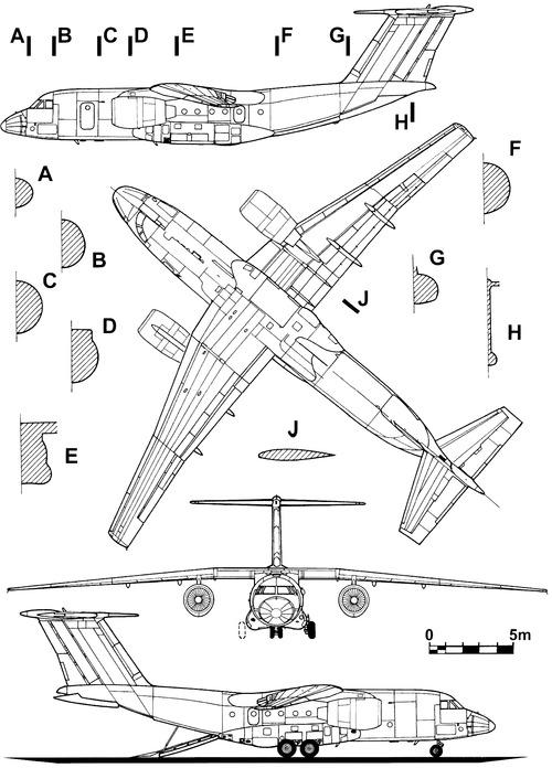 Antonov An-74-300 Coaler