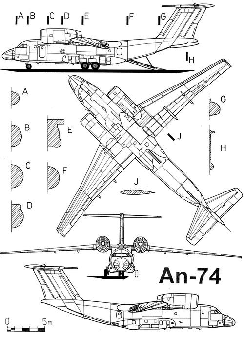 Antonov An-74 Coaler