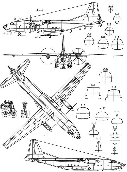 Antonov An-8 Camp