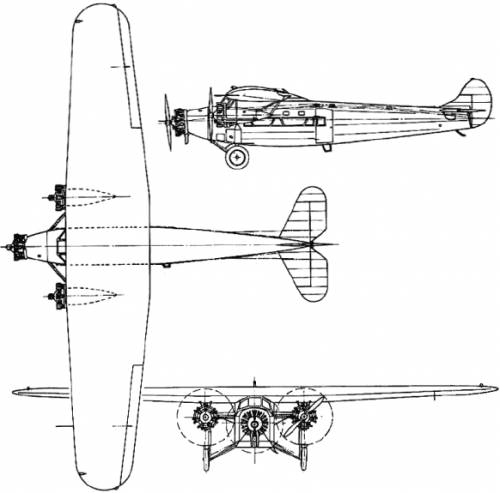 Avro 618 Ten (England) (1929)