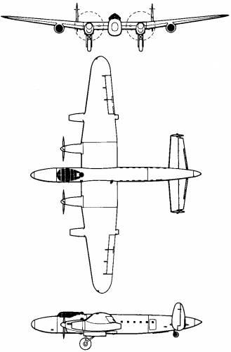Avro 691 Lancastrian Jet (England) (1946)
