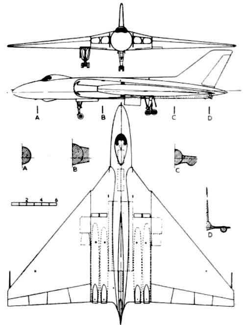 Avro 698 Volcan