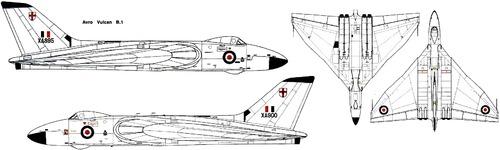 Avro 698 Vulcan B.1