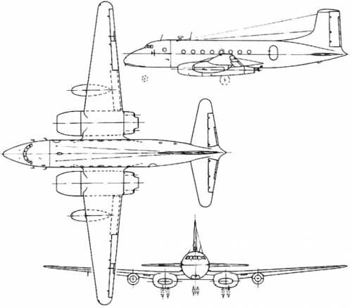 Avro 706 Ashton (England) (1950)
