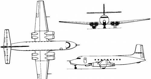 Avro Canada C-102 Jetliner (Canada) (1949)