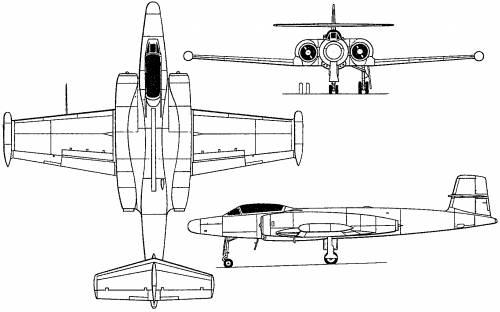 Avro Canada CF-100 Canuck (Canada) (1950)