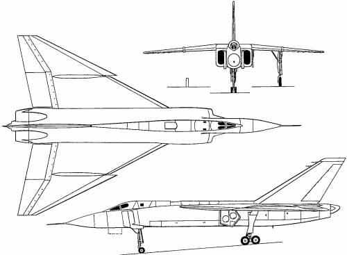 Avro Canada CF-105 Arrow (Canada) (1958)