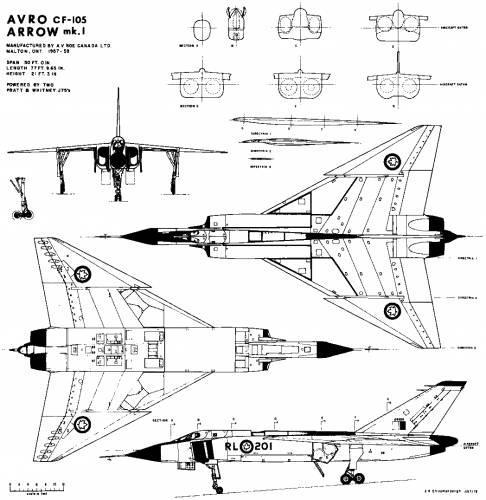 Avro Canada - CF-105 Avro Arrow
