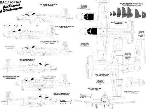 BAC 147-167 Jet Provost-Strikemaster
