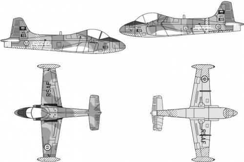 BAC 167 Mk.80 Strikemaster