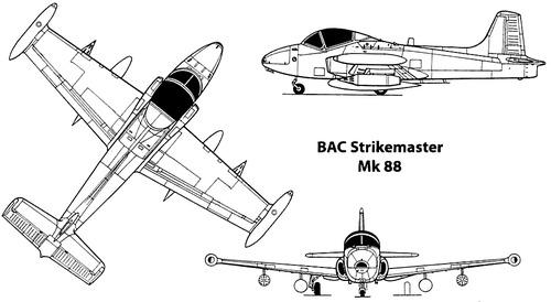BAC 167 Strikemaster Mk.88