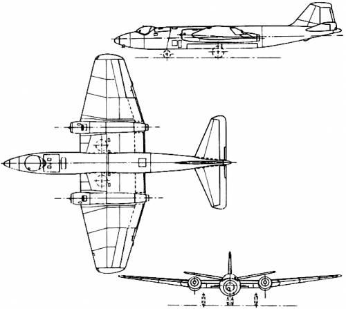 BAC Canberra (England) (1951)